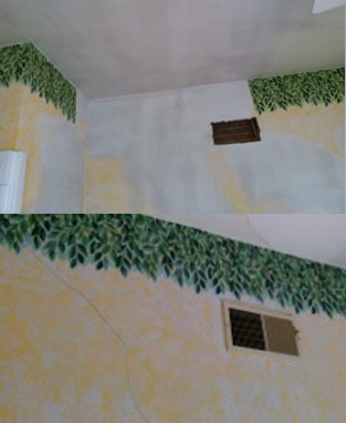 Wall service contractor