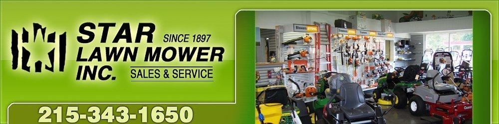 Lawn Mowers - Jamison, PA - Star Lawn Mower Inc.