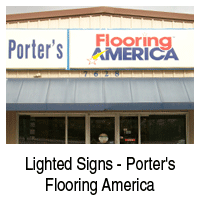 Lighted Signs | Beaumont, TX | D & S Signs | 409-842-1546