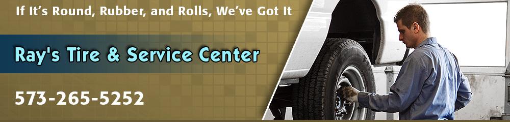 Tire Center - Saint James, MO - Ray's Tire & Service Center