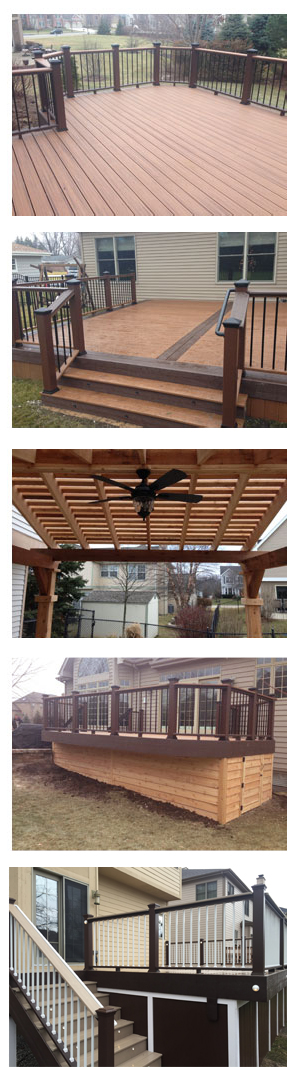 Gallery St. Charles, IL Deck Company