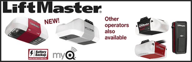 LiftMaster Garage Door Opener Battery Backup