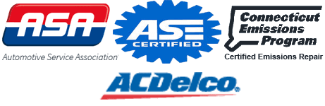 ASA Certified | Delco Tech Center | Certified Emissions Repair