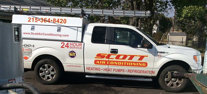 Scott Air Conditioning Vehicle