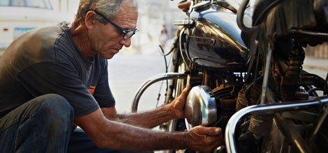 Motorcycle engine rebuild