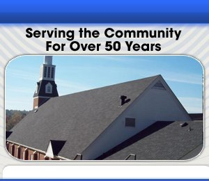 Commercial Roofing Service - Little Rock, AR - AHM Roofing LLC - church roofing - Serving the Community For Over 50 Years