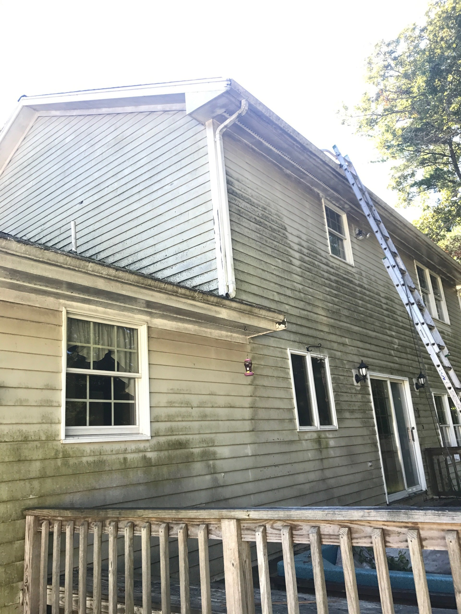 House Washing Cedar Siding Cleaning Fairhaven Ma