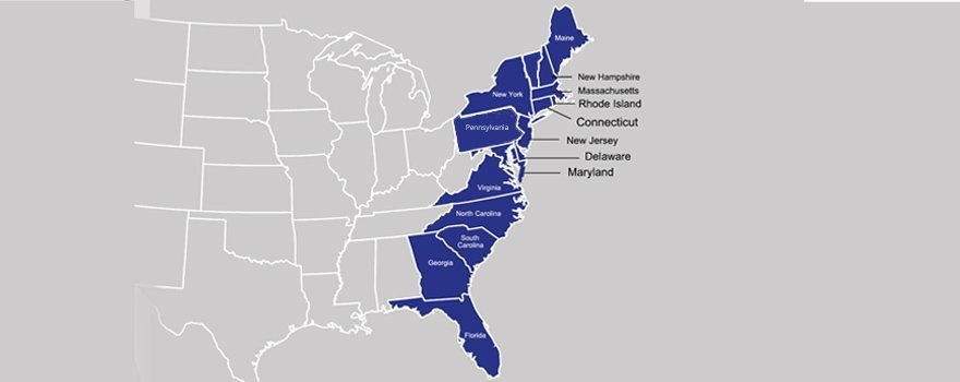 JP's Art - Service area map