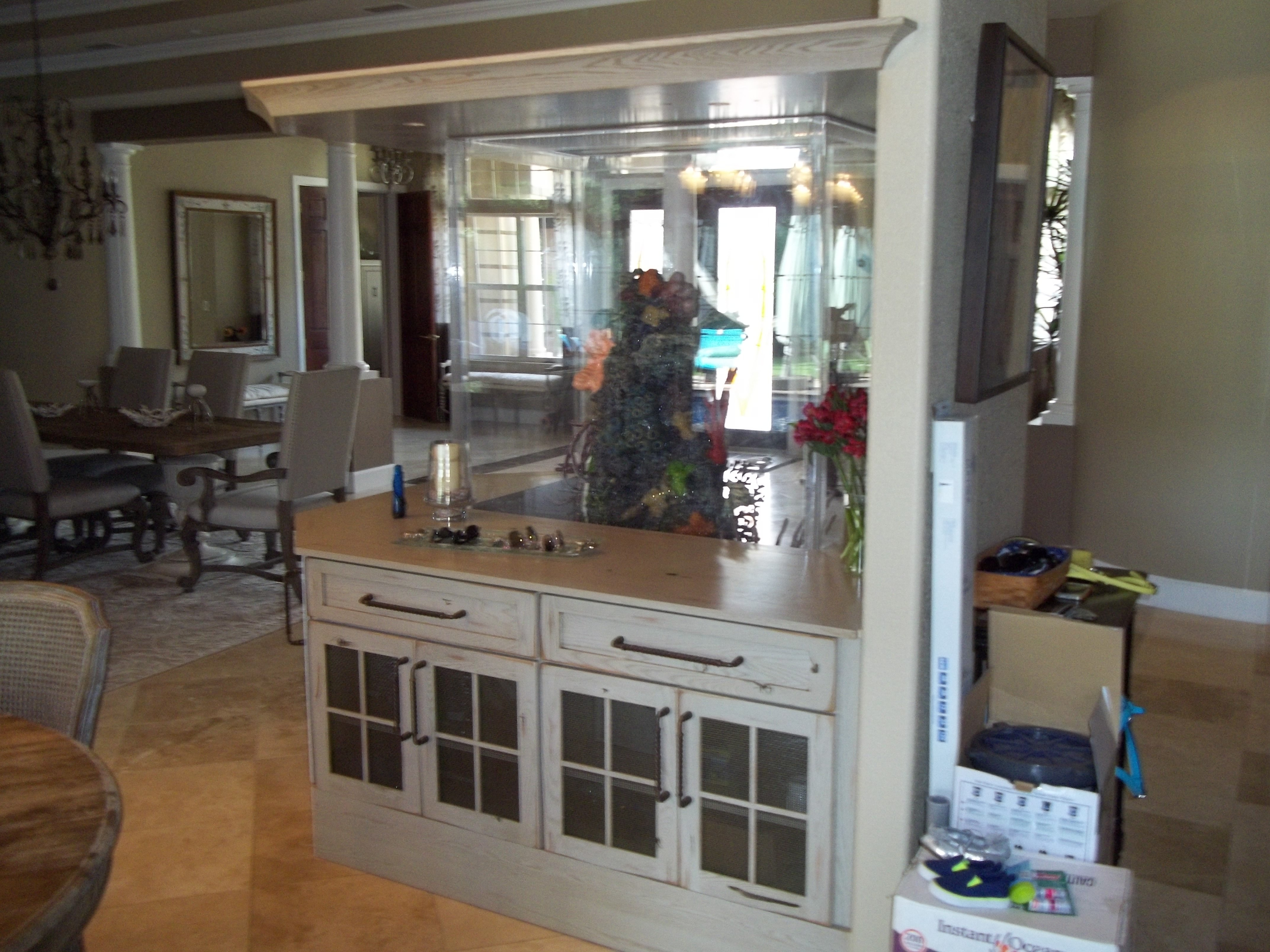 Custom organized kitchen furniture