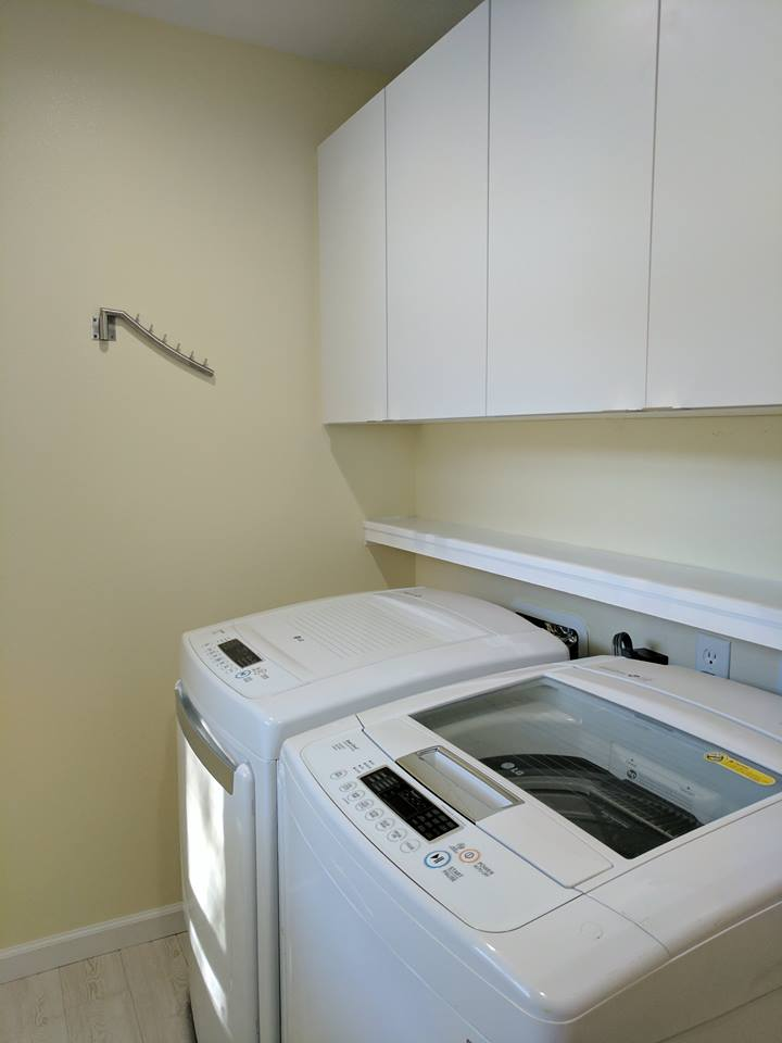 Laundry Room Clean and Bright