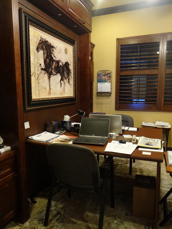 Custom office space furniture