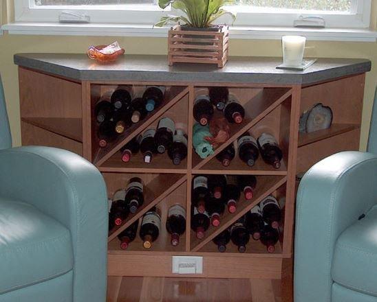 Wine cellar hutch