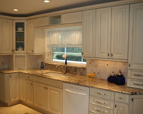 light and bright kitchen in a happy home