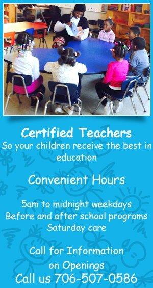 Child Education Services - Columbus, GA - Mayo Academy Inc.