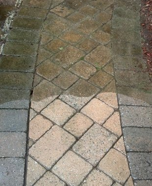 Sidewalk Powerwashing | Clifton, NJ | Modern Powerwash | 973-777-6336