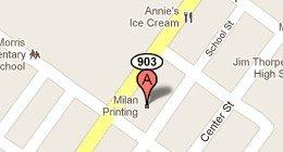 Milan Printing 1012 North Street Jim Thorpe, PA 18229