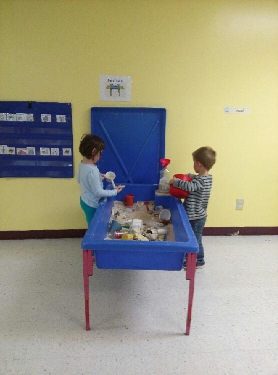 Children doing activity