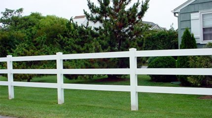 PVC Fencing - Springfield, OH  - American Fence Company - Wood Fencing