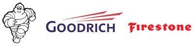 Michelin Man, Goodrich, Firestone