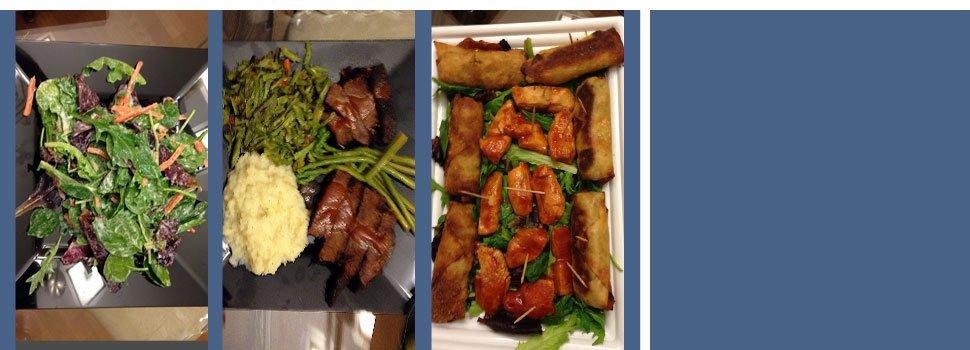 Assorted meals