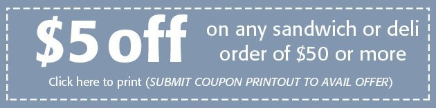 Midwest Kosher Deli Coupon - South Bend, IN