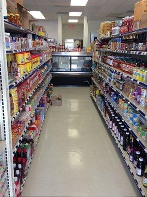 Aisle full of goods