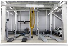 Auto lift hydraulics