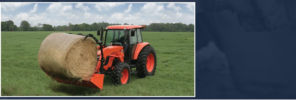 Orange agricultural equipment