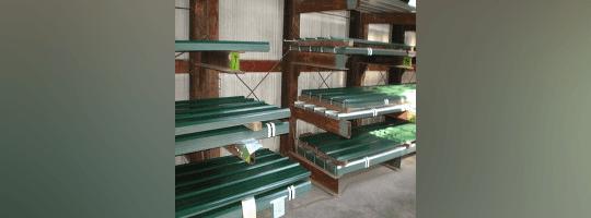 Roofing metal