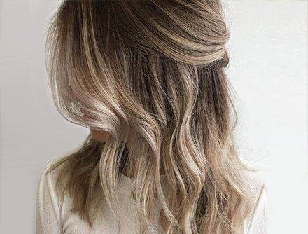 Unique hair style