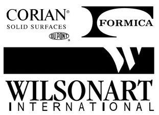 Corian, Formica, Wilsonart