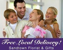 Gift Shops - Sandusky, MI - Sandtown Florist & Gifts - Free Local Delivery!