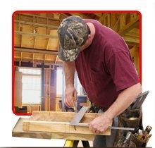 home improvements - Ironwood, MI - R E D Construction  - carpenter measuring wood