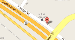 H & H Appliance 166 E Frontage Rd Ripon, CA 95366 (Off Hwy 99)