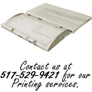 advertising - Clarklake, MI - Your Home Town USA - Contact us at 517-529-9421 for our Platemate Placemats services.