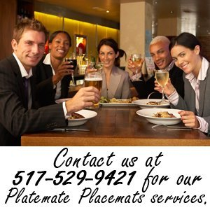 publishing - Clarklake, MI - Your Home Town USA - Contact us at 517-529-9421 for our Platemate Placemats services.
