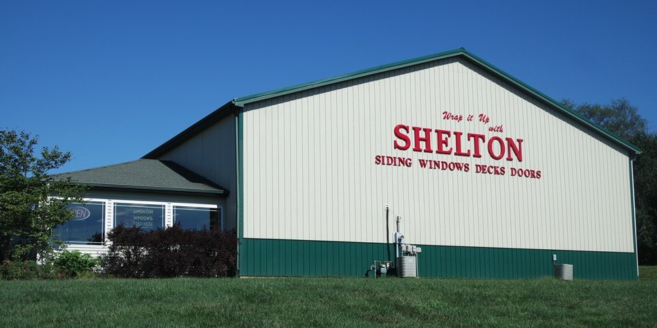 Outside of building - Shelton Siding Windows Decks Doors