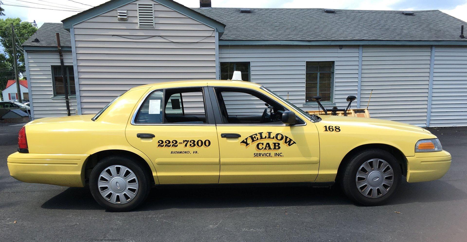 Yellow Cab Service Inc Airport Taxi Richmond Va