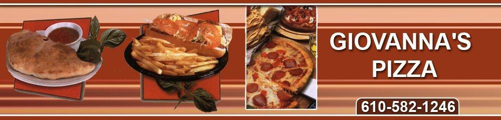 Pizza Restaurant Reading, PA - Giovanna's Pizza 610-582-1246