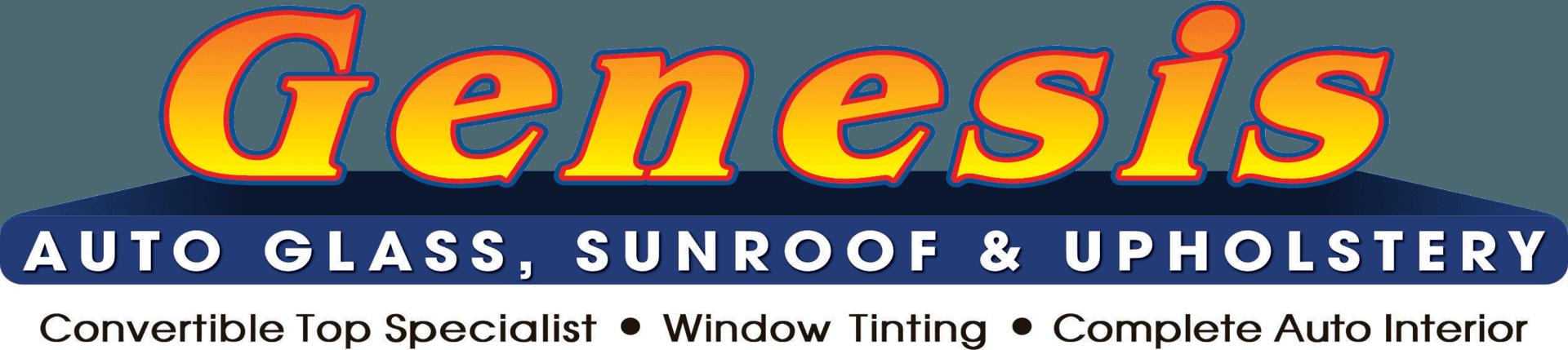 Genesis Auto Glass, Sunroof & Upholstery - Logo