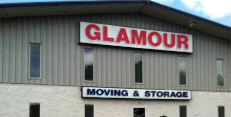 Glamour building