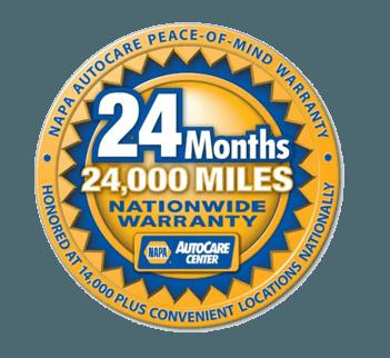 24 months - 24,000 miles Nationwide Warranty