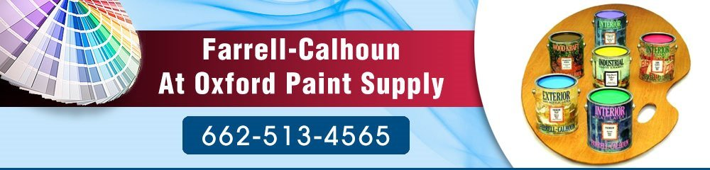 Paint Supplies Oxford, MS - Farrell-Calhoun At Oxford Paint Supply