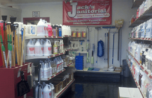 Jack's Janitorial/Vacuums LLC cleaning supplies