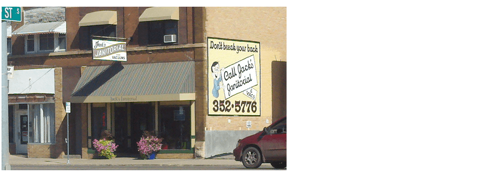 Jack's Janitorial/Vacuums LLC store front