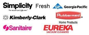 Simplicity Vacuum Cleaners, Fresh, Georgia Pacific, Kimberly Clark, Rubbermaid, Sanitaire, Eureka