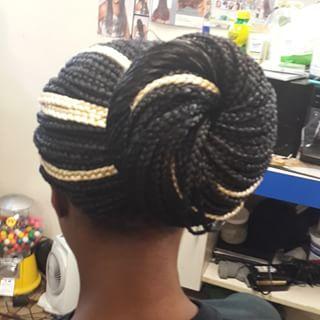 Hair Braiding - Bun
