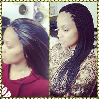 Hair Braiding - Micro