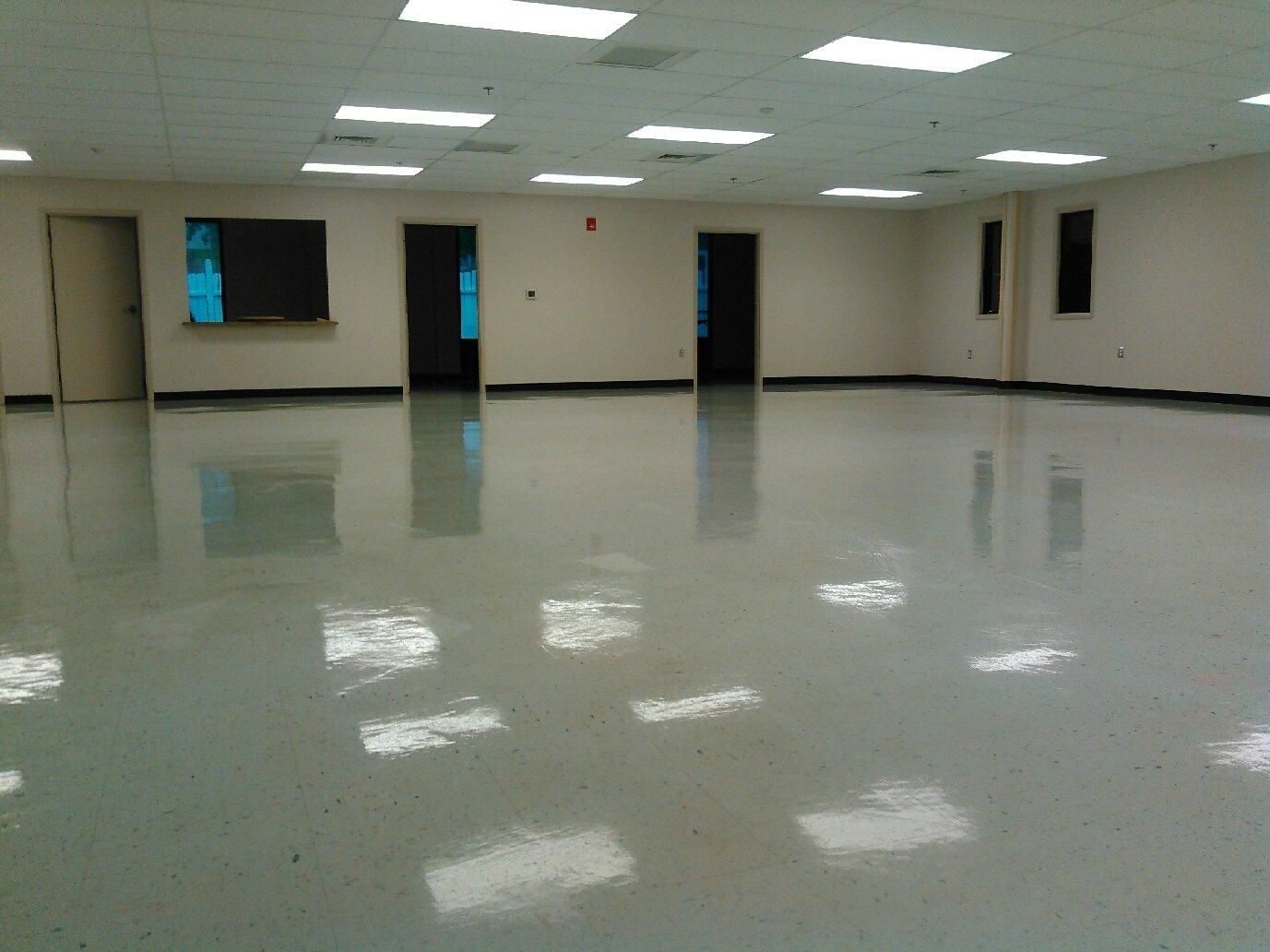 clean flooring