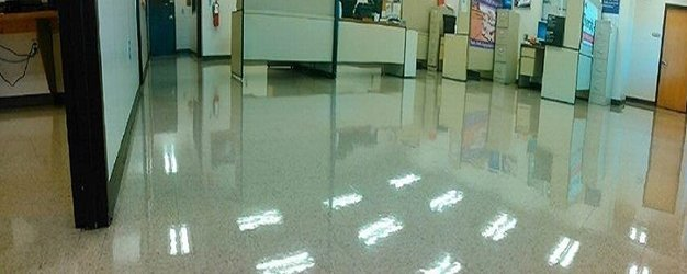 shiny flooring